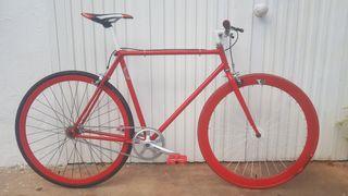 Bicicleta paseo fixie single speed
