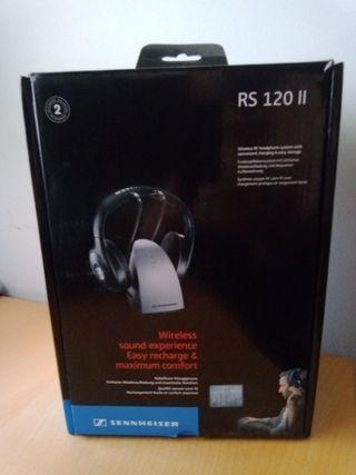 Auriculares inalámbricos SENNHEISER RS120II nuevos
