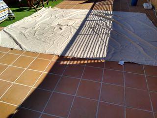 lona pérgola 3x4 parte superior techo