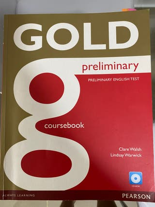 Gold preliminary english test coursebook