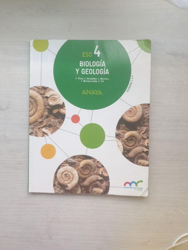Libro De Biología 4 Eso Anaya De Segunda Mano Por 5 En Palencia En Wallapop