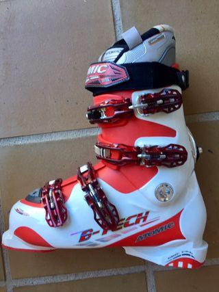 Juego de skis SALOMON y Botas ATOMIC