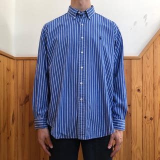 VINTAGE POLO RALPH LAUREN STRIPED SHIRT