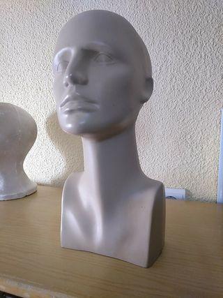 cabeza maniqui