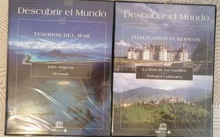 Vendo colección DVDs Descubrir el Mundo.
