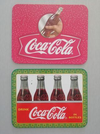 set dos posa sarten coca cola