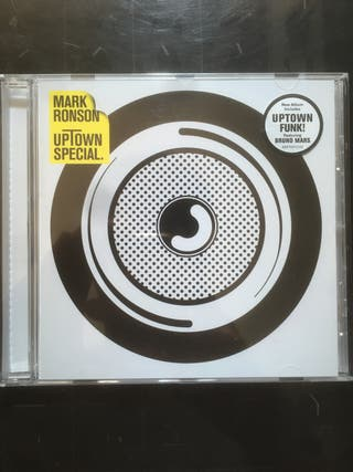 Mark Ronson - Uptown Special CD, 2015