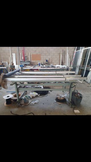 Bancos de trabajo carpintería de aluminio