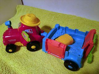 Tractor Remolque de Vtech