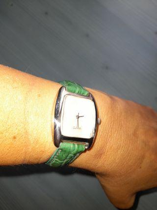 Reloj PlataLey Nacar Piel