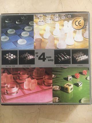 Ajedrez / 3 en rayas / Damas / backgammon