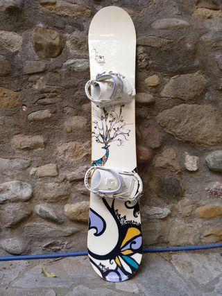 Tabla+fijaciones snow Salomon