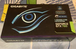 Tarjeta gráfica Gigabyte GeForce GTX 760