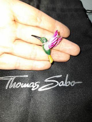 Colgante Colibrí Thomas Sabo Plata