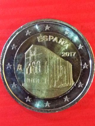Moneda 2 euros España 2017 Sta María Naranco