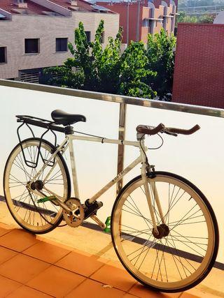Bicicleta Fixie Blanca!! de 550 a 250!!!