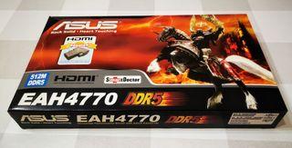 Tarjeta gráfica ASUS AMD Radeon HD 4770 512MB DDR5