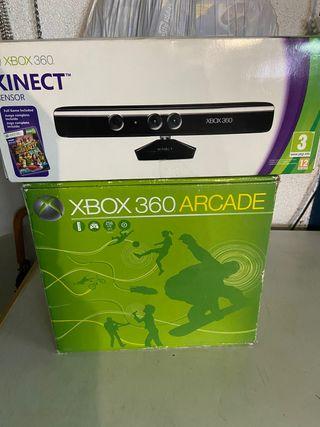 Xbox 360 + kinect + juegos