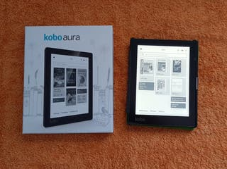 Libro electrónico Kobo Aura