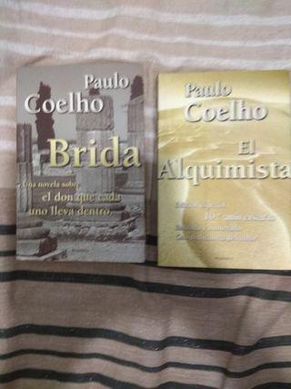 Lote 2 libros Paulo Coelho (Brida i El alquimista)