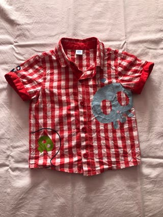 Camisa a cuadros bebé Talla 12 meses Tuc Tuc