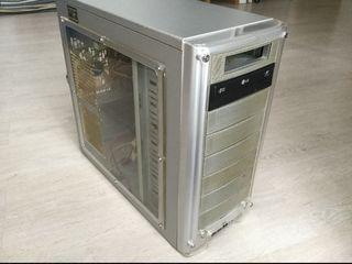Ordenador de sobremesa, PC, computadora, CPU.