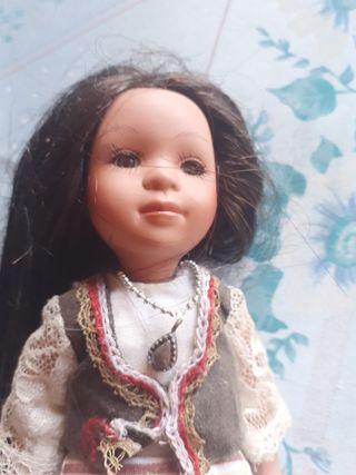 muñeca de porcelana VINTAGE cdg 1648-52