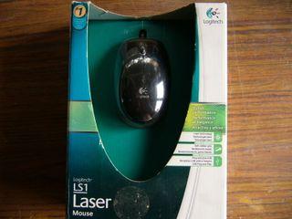 Raton Logitech LS Laser Cualquier Superficie Nuevo
