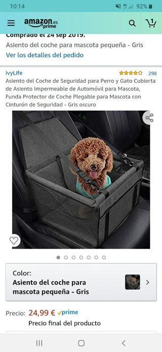 Silla para perro para el coche