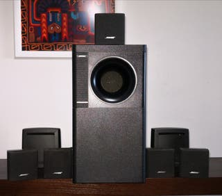 Altavoces Bose Acoustimass 6II