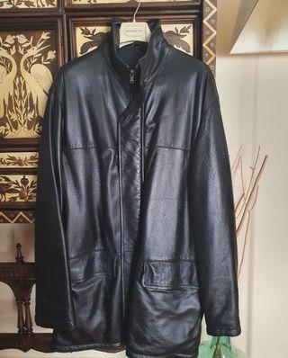 chaquetón piel Yves Saint Laurent