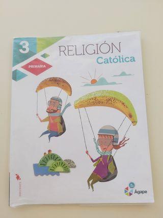 Religión Católica 3 primaria Edelvives