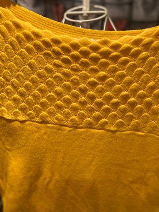 Precioso jersey amarillo perfecto