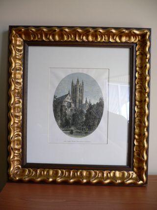 Cuadro con lámina de Canterbury