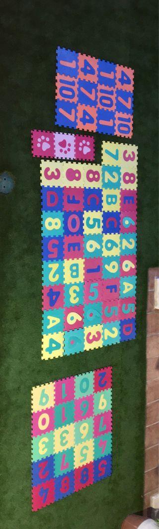 Suelos/ alfombra de goma