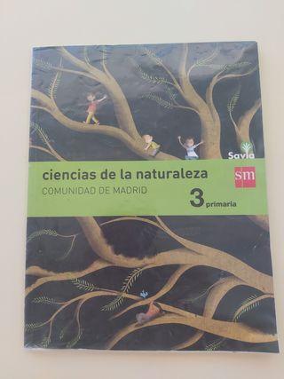 Ciencias de la naturaleza 3 primaria Madrid