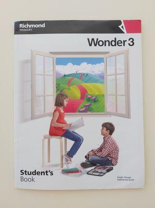 Wonder 3 Student's book Richmond Primary