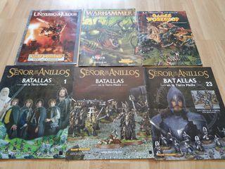 6 fascículos Warhammer