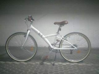 Bicicleta 24 pulgadas 5 marchas niño/a