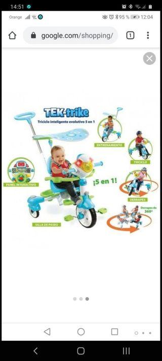 se vende triciclo de 3 ruedas en perfecto estado