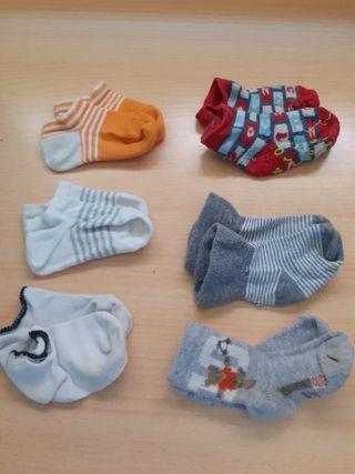 calcetines 6 pares 1e