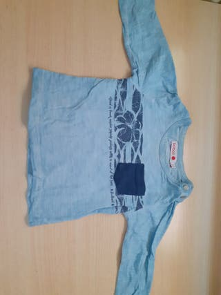 camisetas manga larga 12 meses a 1e unidad