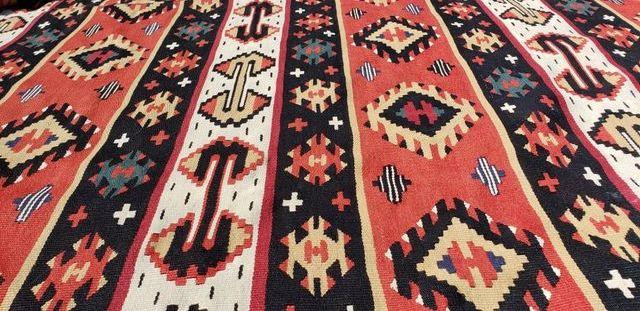 Sarkoy kilim,alfombra lana XXL