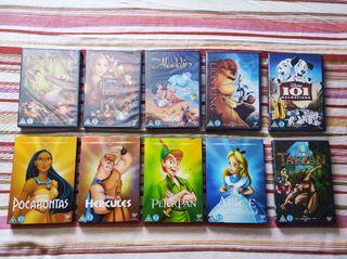DVD colección de Disney clasics, español e inglés