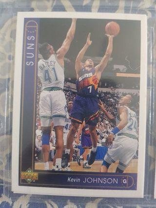 Trading card KEVIN JOHNSON (Phoenix Suns) #15 93-9