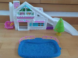 Casa de la nieve de Pinypon con pista de hielo