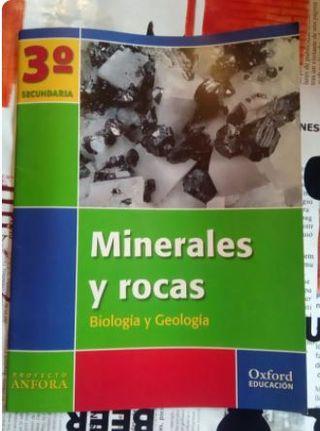 minerales y rocas biología y geologia 3 secundaria