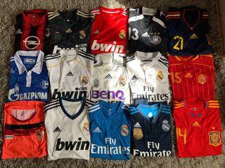 Camisetas Fútbol Equipos