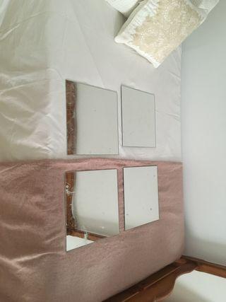 Espejos Ikea cuadrados