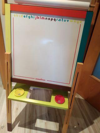 Pizarra infantil + letras y números